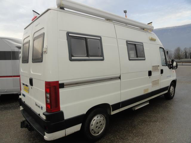 trigano eurocamp 2 camping car fourgon occasion caravaning du marais chamb ry en savoie. Black Bedroom Furniture Sets. Home Design Ideas