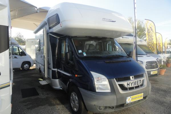 Hymer Camp 512 CL - Camping-car capucine - Occasion