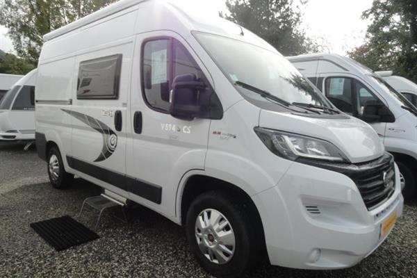 Chausson Twist Start V594 SCS - Camping-car fourgon - Occasion